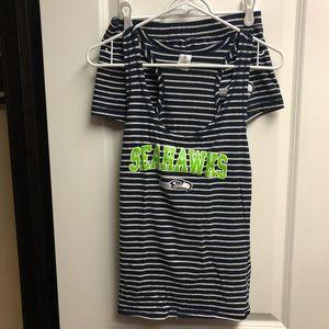 Seattle Seahawks Pajama Set Women's Size Small